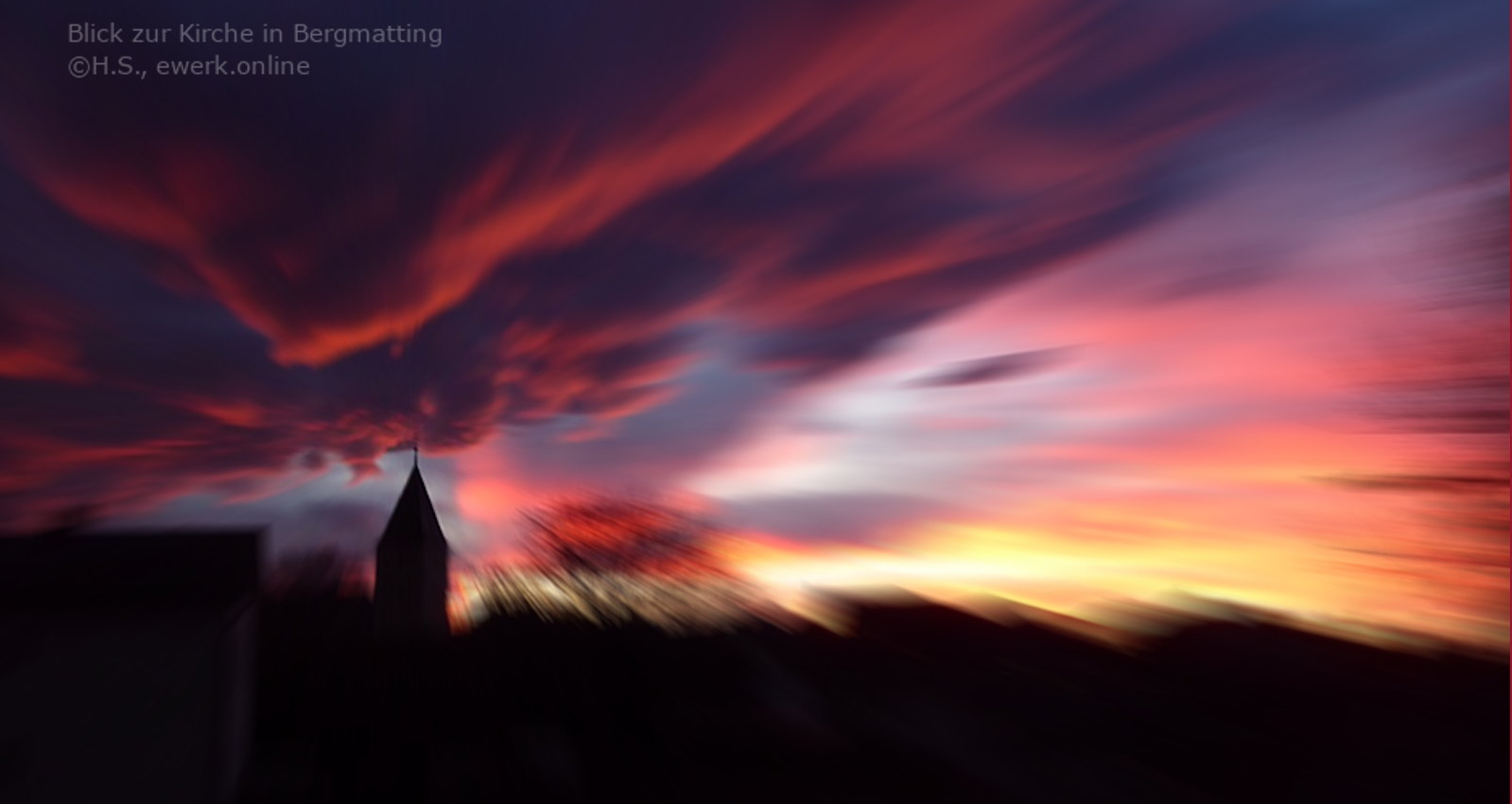 Foto: Kirche in Bermatting, Bayern