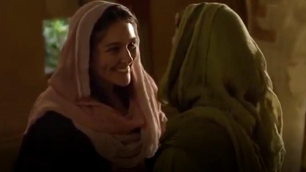 Foto: Begegnung Maria mit Elisabeth