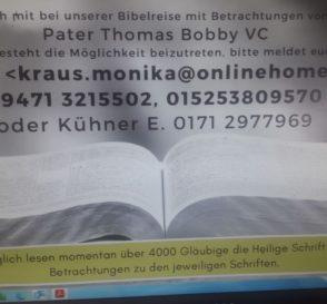 Foto: Kontaktdaten Bibelreise