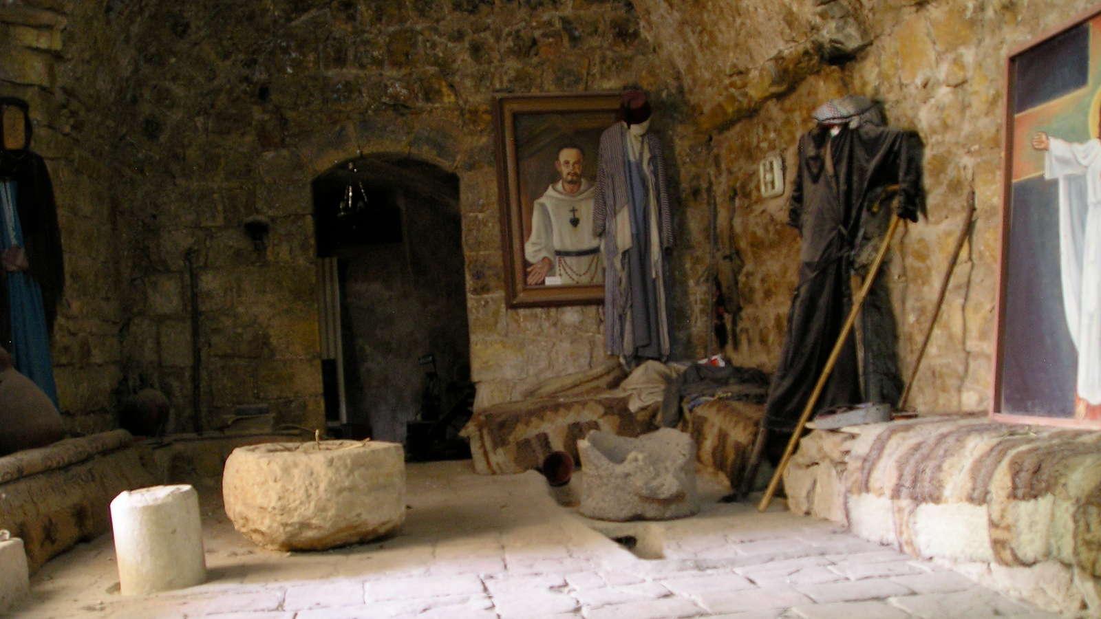 Foto: Chamber of Bl. Charles de Foucauld